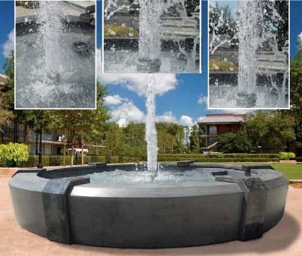 Fontane in cemento bianco da gia - Fontana da giardino moderna ...