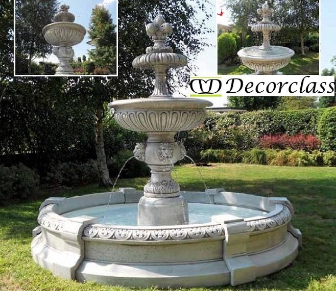 Finest fontane da giardino fontane decorclass fontane da for Fontane da giardino obi